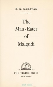 Cover of: The man-eater of Malgudi