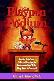 Cover of: From Playpen to Podium