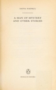 Cover of: A man of mystery and other stories