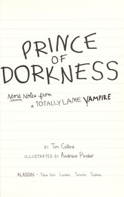 Cover of: Prince of Dorkness