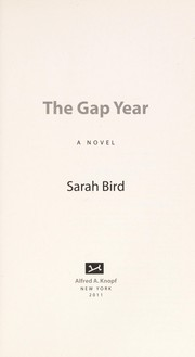 Cover of: The gap year