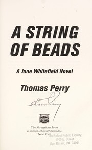 Cover of: A string of beads