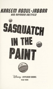 Cover of: Sasquatch in the paint