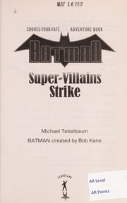 Cover of: Batman | Michael Teitelbaum
