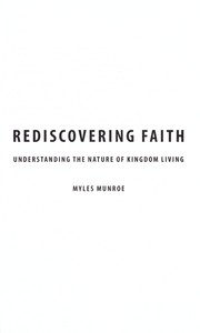 Cover of: Rediscovering faith