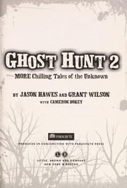Cover of: Ghost hunt 2 | Jason Hawes