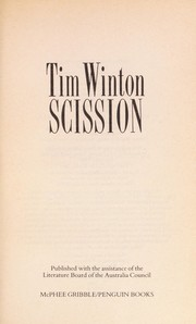 Cover of: Scission