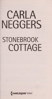 Cover of: Stonebrook cottage | Carla Neggers