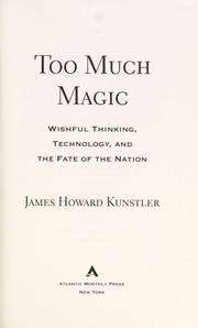 Cover of: Too much magic