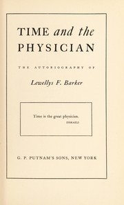 Cover of: Time and the physician