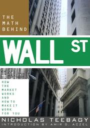 Cover of: The Math Behind Wall Street | Nicholas Teebagy