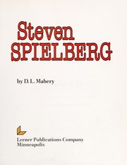 Cover of: Steven Spielberg | D. L. Mabery