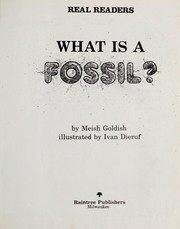 Cover of: What is a fossil? | Meish Goldish