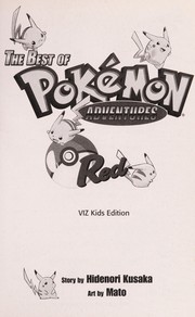 Cover of: The best of  Pokémon adventures