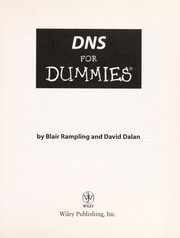 Cover of: DNS for dummies | Blair Rampling