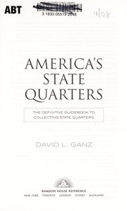 Cover of: America's state quarters