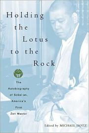Cover of: Holding the Lotus to the Rock | Michael Hotz