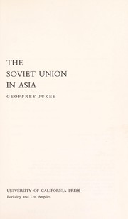 Cover of: The Soviet Union in Asia. | Geoffrey Jukes
