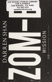 Cover of: Zom-B mission | Darren Shan