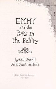 Cover of: Emmy and the rats in the Belfry
