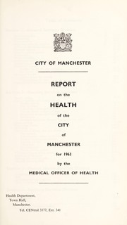 Cover of: [Report 1963]