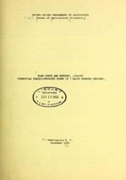 Cover of: Farm costs and returns, 1945-47 | United States. Bureau of Agricultural Economics