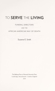 Cover of: To serve the living