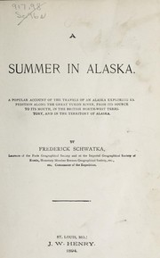 Cover of: A summer in Alaska