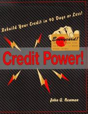 Cover of: Credit power!