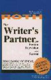 Cover of: The writer's partner for fiction, television, and screen