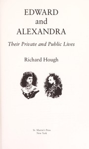Cover of: Edward and Alexandra