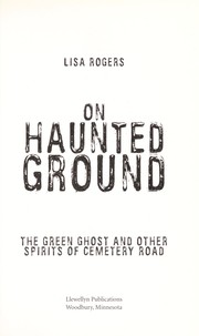 Cover of: On haunted ground