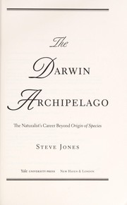 Cover of: The Darwin archipelago