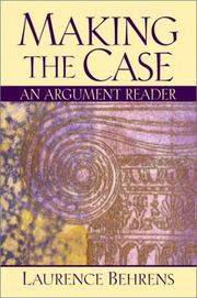 Cover of: Making the Case