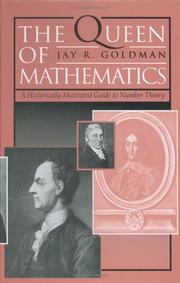 Cover of: The queen of mathematics