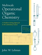 Cover of: Multiscale Operational Organic Chemistry | John W. Lehman