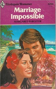 Cover of: Marriage Impossible (Harlequin Romance, #2260)