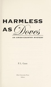 Cover of: Harmless as doves