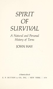 Cover of: Spirit of survival
