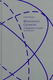 Cover of: Riemannian geometry: a beginner's guide