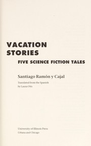 Cover of: Vacation stories: five science fiction tales