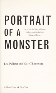 Cover of: Portrait of a monster