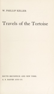 Cover of: Travels of the Tortoise