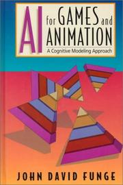 Cover of: AI for games and animation