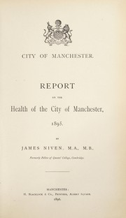Cover of: [Report 1895]