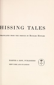 Cover of: Hissing tales
