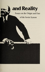 Cover of: Revolution and reality