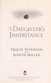 Cover of: A daughter's inheritance