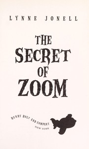 Cover of: The secret of zoom