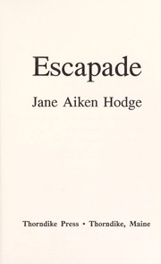 Cover of: Escapade